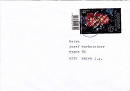 Brief Von 6850 Dornbirn Mit 90 Cent 60 Jahre CERN Mit Allonge 2014 - 1945-.... 2ème République