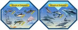 slm14418ab Solomon Is. 2014 Dolphins 2 s/s