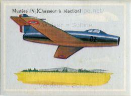 Image Chromo : Avion Mystère IV (Chasseur à Réaction) - Chromos