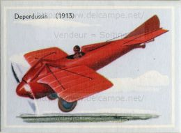 Image Chromo : Avion Deperdussin (1913) - Chromos
