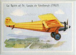 Image Chromo : Le Spirit Of St Louis De Lindbergh (1927) - Chromos