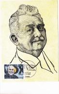 Carte Maximum  2014 - Maximilien Vox - 1er Jour Le 17.10.2014 à 75 Paris - Maximumkarten