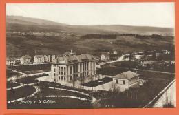 MAB-03 Boudry  Et Le Collège. Cachet Neuchâtel 1923. - NE Neuchatel