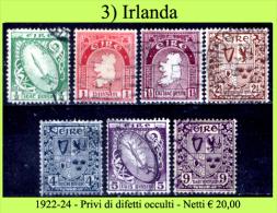 Irlanda-003 - Privi Di Difetti Occulti - - 1922-37 Stato Libero D'Irlanda