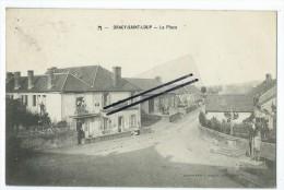 CPA- Dracy Saint Loup- La Place - Autres Communes