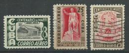 140017960  CUBA  YVERT  AEREO  Nº  86/86/66A - Aéreo
