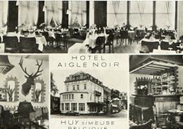 HUY SUR MEUSE (Belgique) Cpsm à 4 Vues Hotel Aigle Noir - Huy