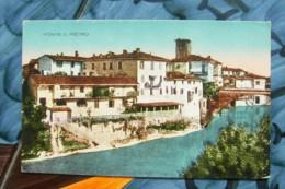 CARTOLINA Di PONTE SAN PIETRO BERGAMO  A8338  NON  VIAGGIATA - Bergamo