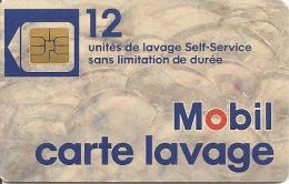 CARTE-PUCE-SO3--LAVAGE-MOBIL-12-UNITES-TBE - France