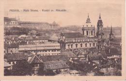 PC Praha - Mala Strana - Kostel Cv. Mikulase - 1916 (9465) - Tschechische Republik