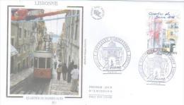 PARIS  Lisbonne Capitale Européenne  L'elevador  De Santa Justa  5/11/09 - Strassenbahnen