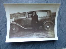 AUTOMOBILE Années 1930, Photo 6X9   ; Ref482 PH 22 - Automobiles