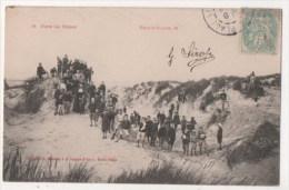 BERCK PLAGE - Dans Les Dunes - Enfants - Berck