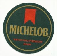 UNITED KINGDOM  -  Michelob  Beer Mat  As Scans - Bierdeckel