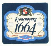 UNITED KINGDOM  -  Kronenbourg 1664  Beer Mat  As Scans - Bierdeckel