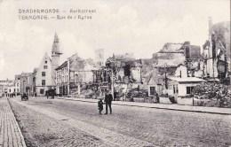 DENDERMONDE - Kerkstraat - TERMONDE - Rue De L'Eglise - Destelbergen