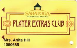 Casino and Raceway Saratoga - Players Extra Club - Saratoga Springs - New York - USA