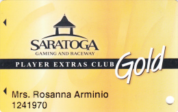 Casino and Raceway Saratoga - Gold - Saratoga Springs - New York - USA