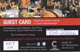 Blankenberge Casino - Guest Card- Blankenberge - Belgium - Europe
