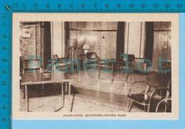 Scotstown P. Quebec Canada ( Salon Waiting Room Hotel Scotstown, Intag Postcard )  Carte Postale 2 Scans - Autres