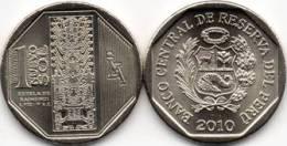 """PERU  1 NUEVO SOL  2.010 2010 """"ESTELA DE RAIMONDI""""  SC/UNC     T-DL-9736 - Pérou"""