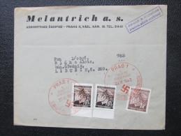 BRIEF 1942 Soderstempel Führers Geburtstag ///  D*14182A - Böhmen Und Mähren