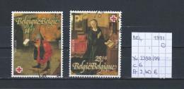 België 1991 - YT 2398/99 Gest./obl./used - Used Stamps