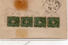 1900    LETTERA CON ANNULLO  ACIREALE - Storia Postale