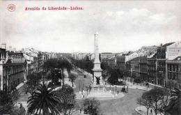 LISBOA Avenida Da Liberdade - Krte Um 1920 - Lisboa