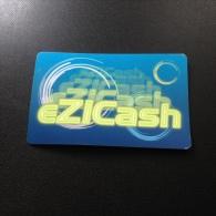 Carte (endommag�e) de Casino : eZiCash Genting Malaysia