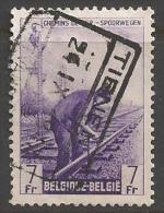 1946 7fr Railway, Used - 1942-1951