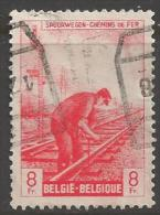 1945 8fr Railway, Used - Railway