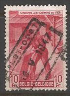 1946 10fr Railway, Used - 1942-1951