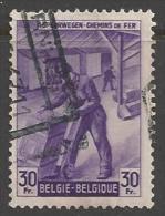1945 30fr Railway, Used - 1942-1951
