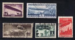 1931-2  Dirigeable  10k Neuf *, Les Autres Oblitérés - Used Stamps