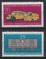 Germany (DDR) 1960   Tag Der Briefmarke  (**)  MNH  Mi.789 -790 - DDR