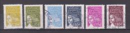 FRANCE / 2003 / Y&T N° 3571/3175 : Luquet (6 TP) - Choisis - Tous Cachet Rond - Frankreich