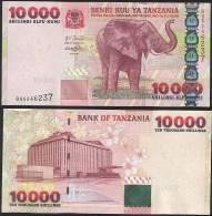 Tanzania P 39 - 10000 10.000 Shilingi Shillings 2003 - UNC - Tanzania