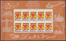Surinam 1975 - Independence of the country ( Mi 702 ) MNH