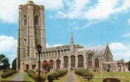 Postcard - Lavenham St. Peter & St. Paul's Church, Suffolk. 1-31-03-04/4090c