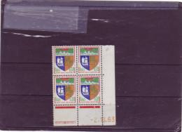 N° 1354A - 0,18F Blason De ST DENIS - B De A+B - 1° Tirage Du 1.10.63 Au 11.10.63 - 2.10.1963 - - 1960-1969