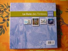 Le Livre Des Timbres  Année 2011 - Documents De La Poste