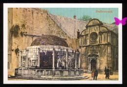 DUBROVNIK 1908 - Godine - Onofrijeva Cesma I Crkvica Sv. Spasa - Croazia