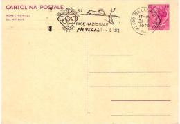"""Cartolina Postale 1970 TURRITA L.40; No Viaggiata;AS A Targhetta""""Fase Nazioanale Gichi Gioventù Invernali"""" - 6. 1946-.. Repubblica"""