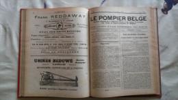 revue le pompier belge 1920-1921