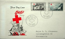 Norway 1965 Rotes Kreuz  MiNr.530-31  FDC (lot 1184 ) - FDC