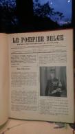 revue le pompier belge 1914 et 1919