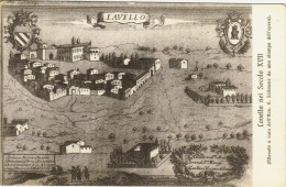 Cartolina Lavello viaggiata anni 50.