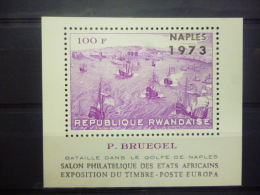 REP. RWANDA BLOK 31  xx ( COB ) COTE : 30 EURO ( B )