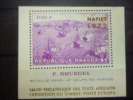 REP. RWANDA BLOK 31 A  xx ( COB ) COTE : 30 EURO ( B )